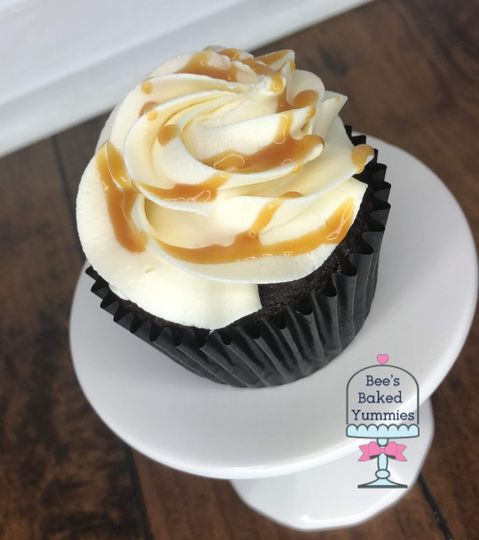Chocolate Salted Caramel Cupcakes, not much else needs to be said about these