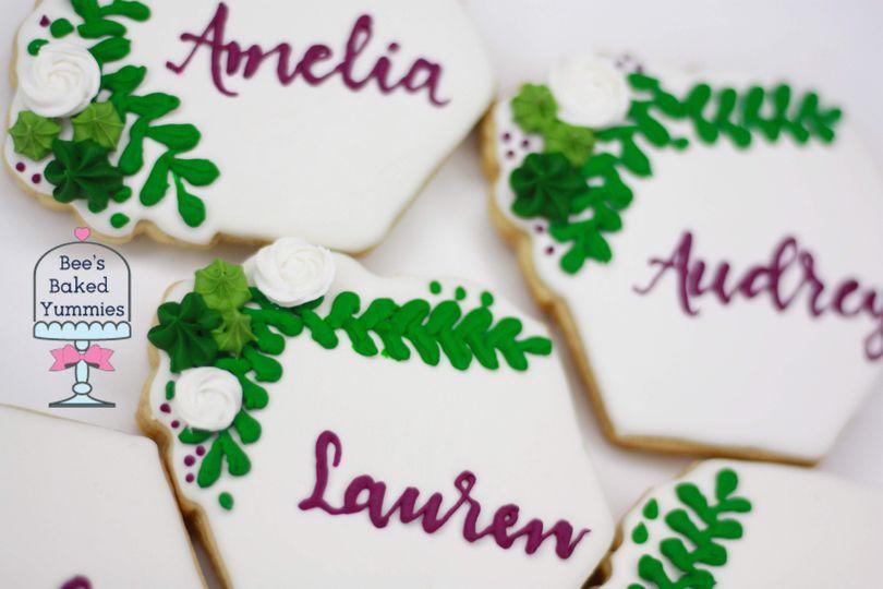 Placecard Cookies