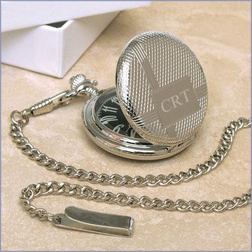 pocket watch engravable