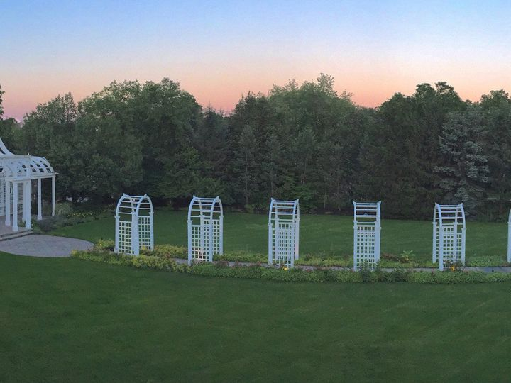 Tmx 1493964475524 Birchwood Manor Pergola Panorama   Ww Whippany, NJ wedding venue