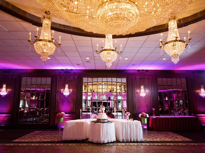 Tmx 1494008383989 Birchwood Manor Jefferson Ballroom Purple Lit Ww Whippany, NJ wedding venue