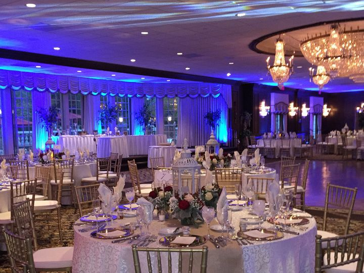 Tmx 1494008855470 Birchwood Manor Jefferson Ballroom Blue Lit Ww Whippany, NJ wedding venue