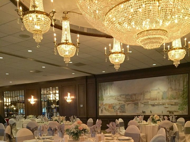 Tmx 1494009939242 Birchwood Manor Jefferson Ballroom Gray Sash Ww Whippany, NJ wedding venue