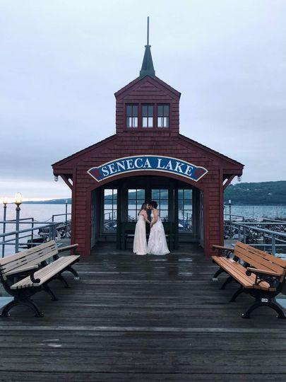 Brides in Watkins Glen