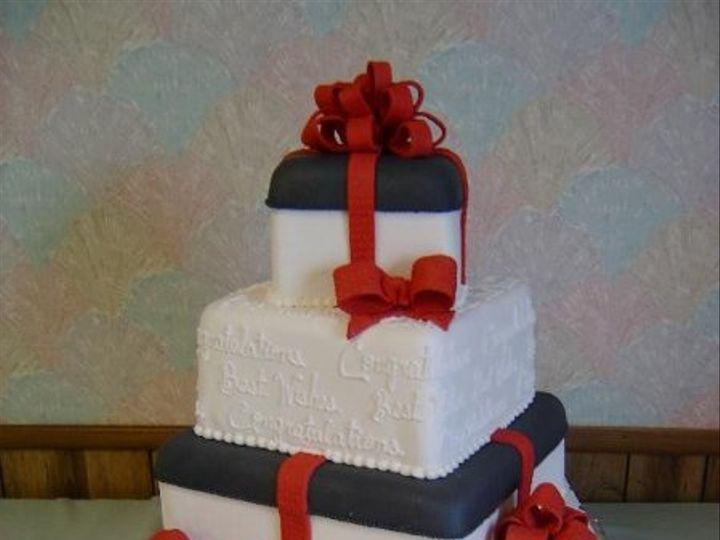 Tmx 1193776812687 Packagewithwritng Akron wedding cake