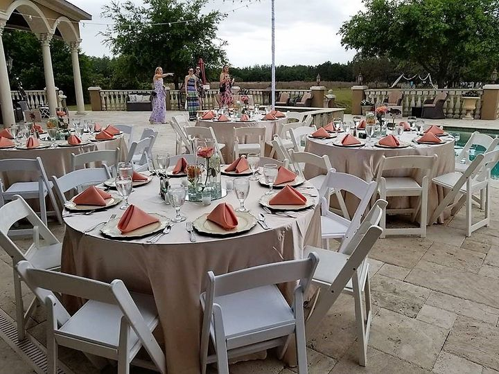 We specialize in private home weddings.