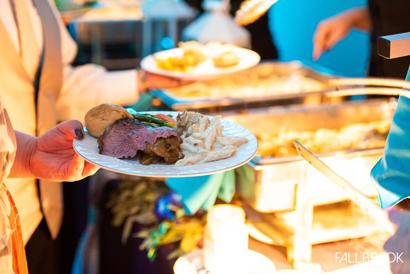 Our Staff Serves Buffets