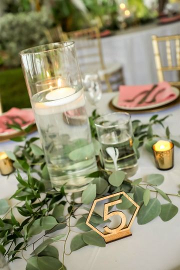 Choice of 30 centerpieces