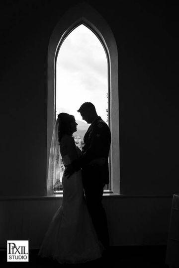 2013wedding silhouett
