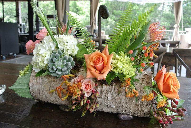 Sample centerpiece arrangement
