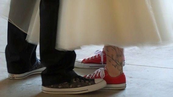 Couple's shoes
