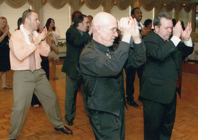 Teaching a dance