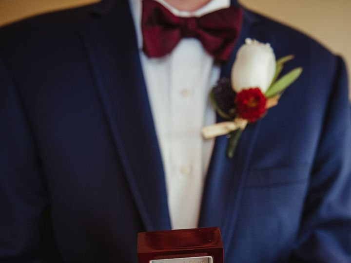 Tmx 1510245788919 A Groomsman Holding The Wedding Rings Rolesville, NC wedding photography