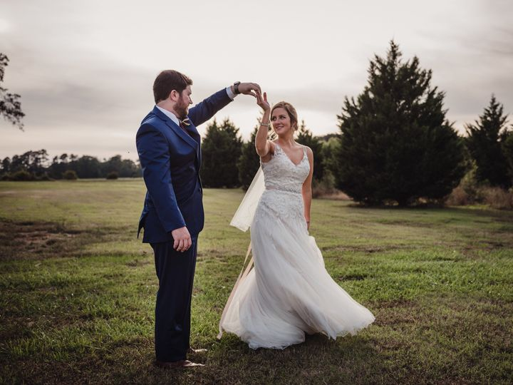 Tmx 1510245848156 The Groom Is Twirling The Bride In Her Bridal Gown Rolesville, NC wedding photography