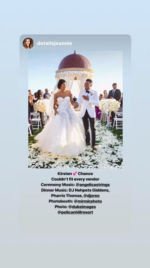 Chance the Rapper wedding