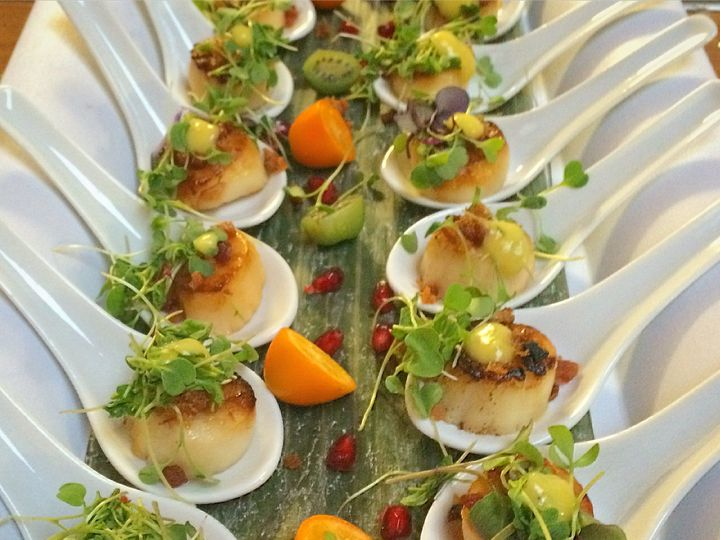 Tmx 1484074533293 Seared Scallops Norwood wedding catering