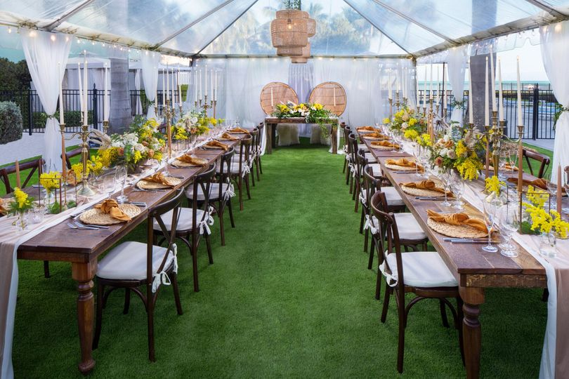 Event Lawn Tented Wedding
