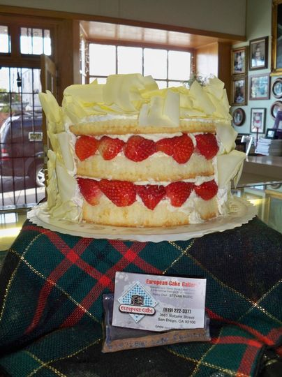 EUROPEAN CAKE GALLERY Wedding Cake San Diego CA WeddingWire
