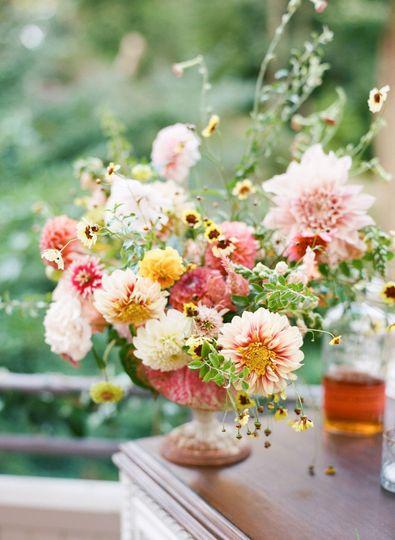 Lush Wedding Arrangement