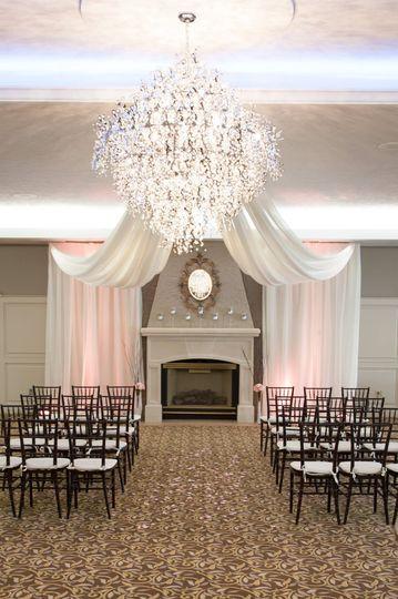 Ballroom Indoor Ceremony