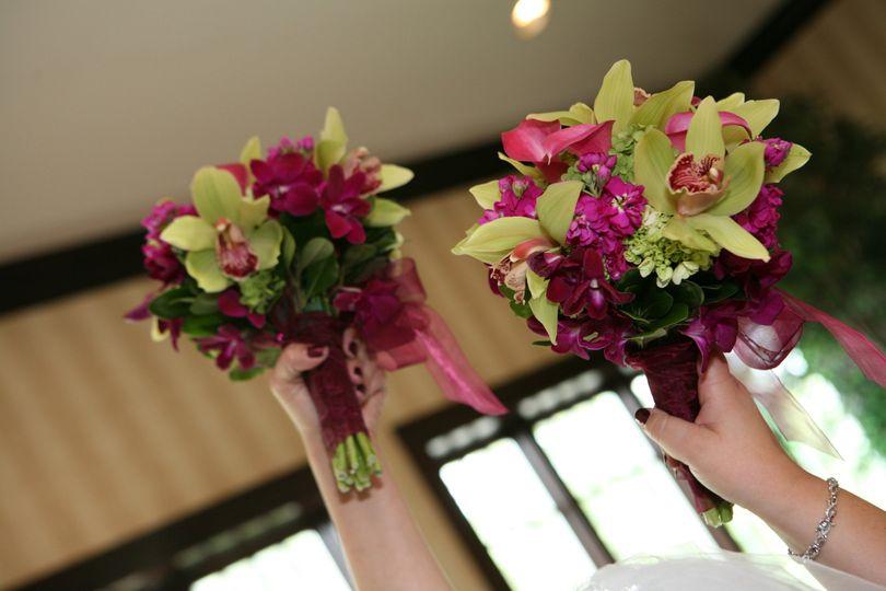 marcys wedding bouqet