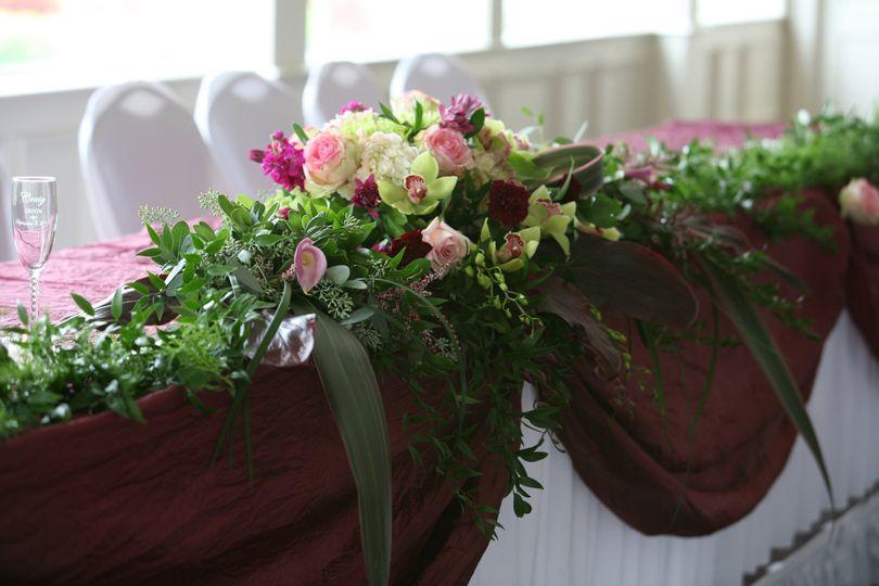 marcys table flower