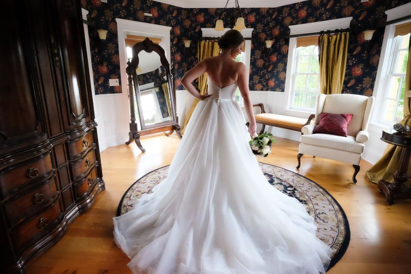 A stunning Rockford IL Bride at The Pavilions.  Wedding photography by Jay Bryant