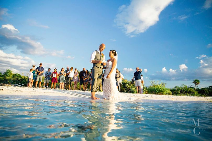 Private Island wedding. YES PLEASE!