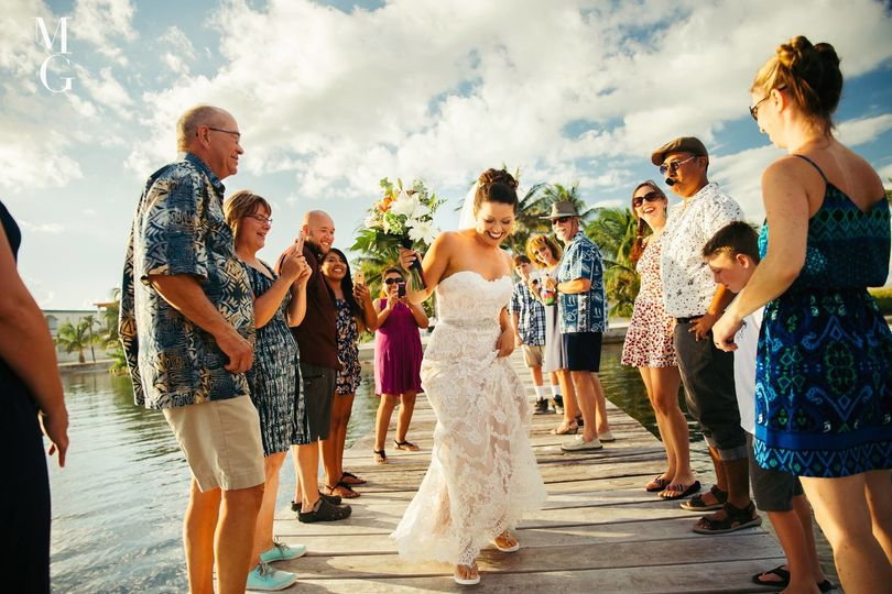 How to walk down the aisle!