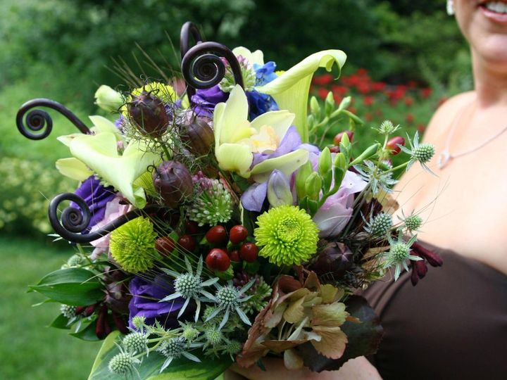 Tmx 1348172376604 Fiddleheadfernbouquet Ambler, PA wedding florist