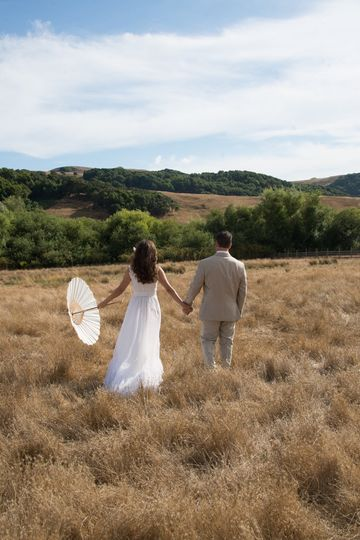 Petaluma California vintage wedding.  Set on a family ranch amazing venue.