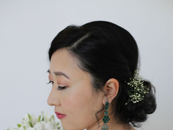 Tmx 1534521234 9746669ca5b96ec3 Shelia Raw Vintage Katiekiharahairandmakeup Wedding Seattlebri Seattle, WA wedding beauty