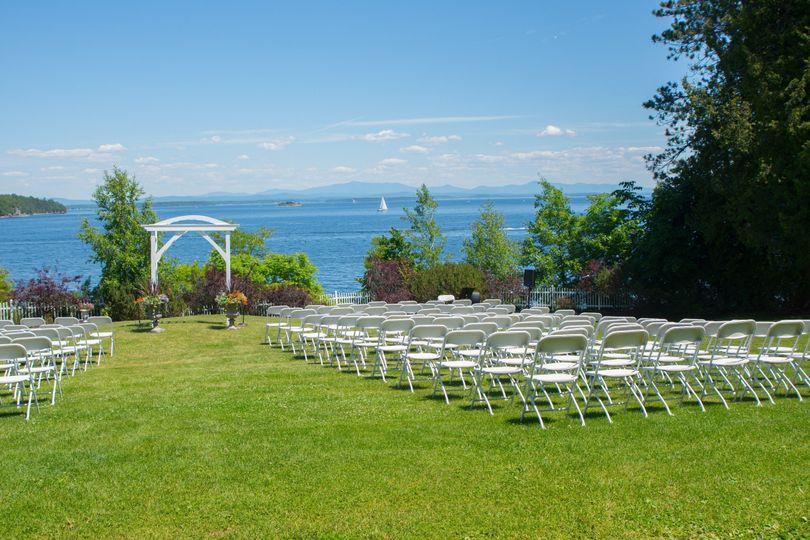 Wedding venue outdoor