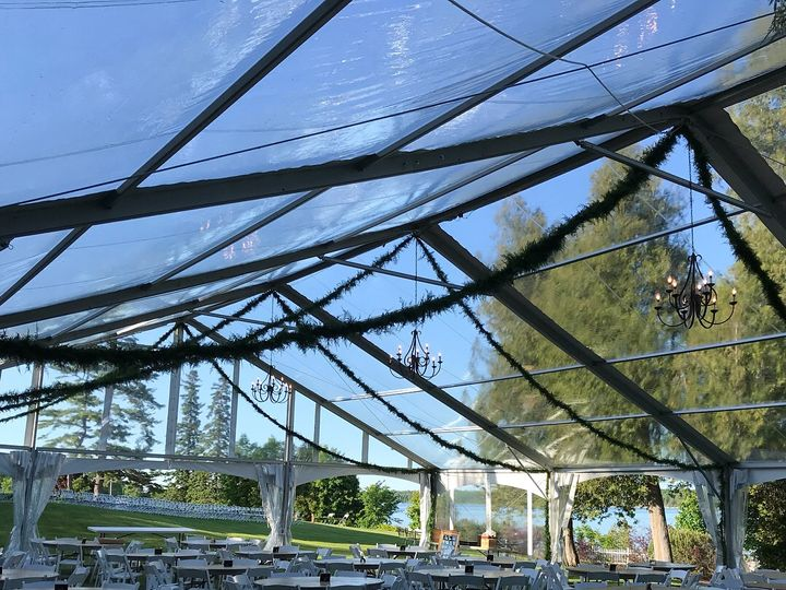 Tmx Clearspan Frame Tent With Clear Top 51 587156 West Chazy, Vermont wedding rental