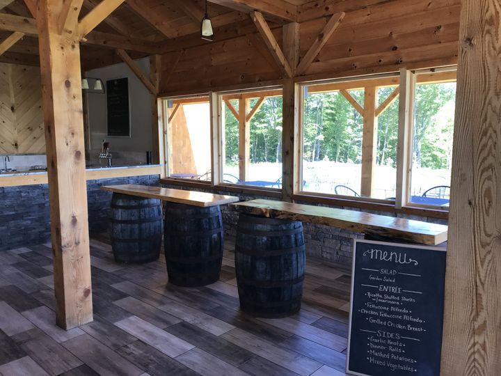 Tmx Wine Barrel Slab 51 587156 West Chazy, Vermont wedding rental