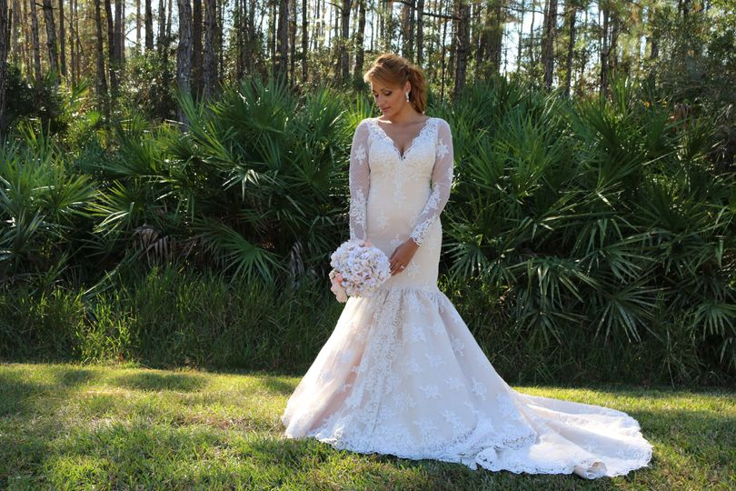 Gorgeous long sleeves mermaid cathedral train gown, beautiful illusion lace low back.
