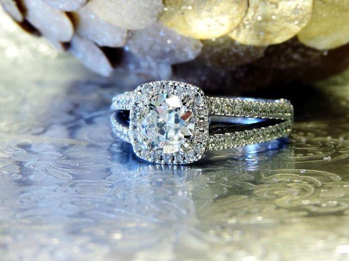 Tmx 1386780169821 14 Kt. White Gold With A 1 Carat Round Cut Diamond Atlanta wedding jewelry