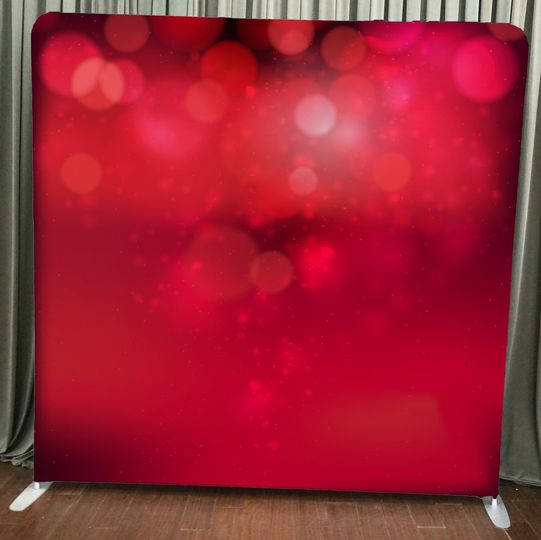Red Bokeh Backdrop