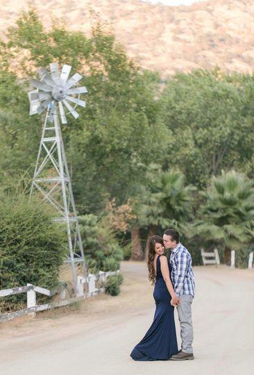 Near the windmill