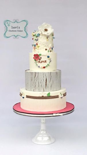 Loris Custom Cakes Wedding Cake San Diego CA WeddingWire