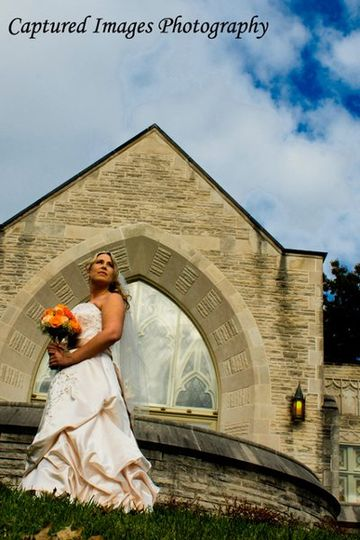 A beautiful day for a beautiful bride. Photo by Captured Images Photography.