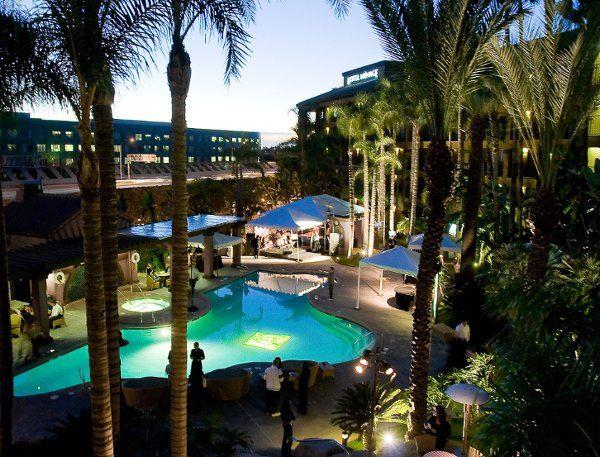 Tropical pool at Hotel Menage