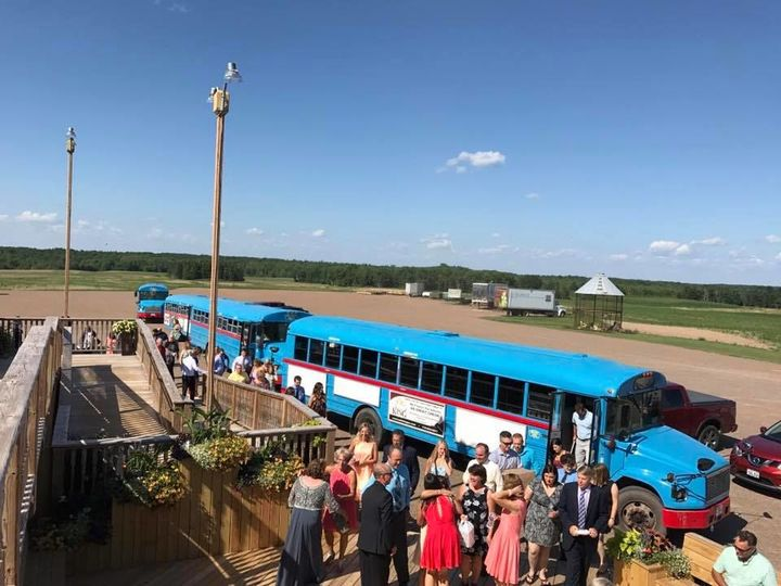 Wedding Guest Shuttle at the Barn on Stoney Hill