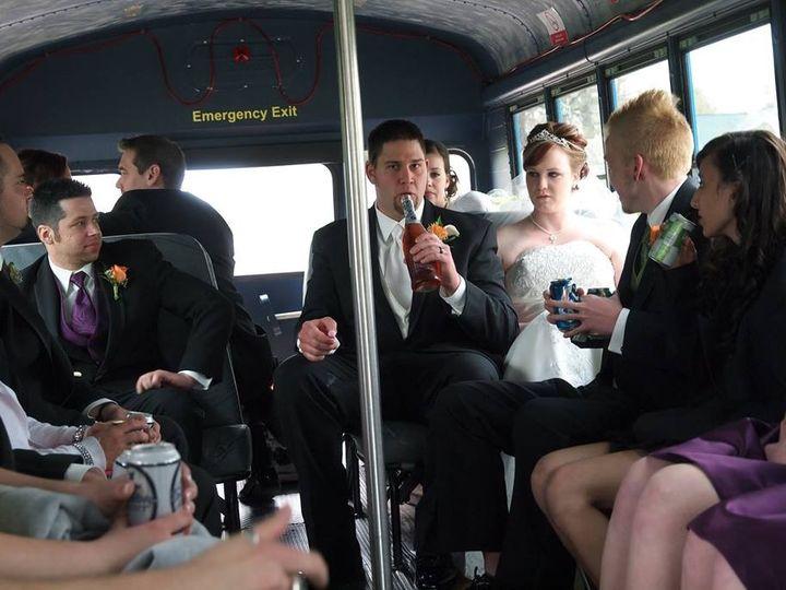 Tmx 1478191483779 Wedding Party On Party Bus Eau Claire, WI wedding transportation