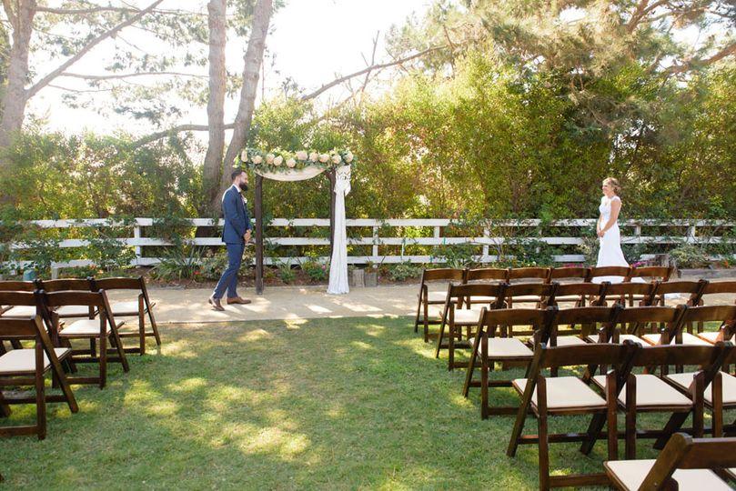 Wedding Ceremony First Look