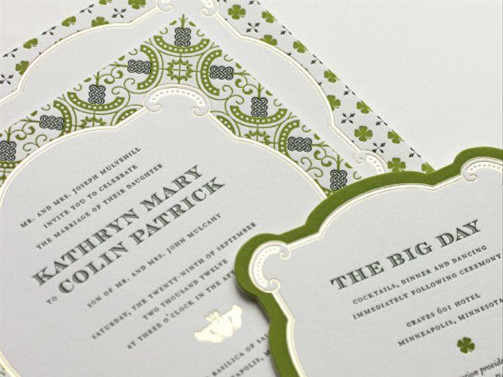 Tmx 1425654435548 Larkspurpaperista 1 Bristol wedding invitation