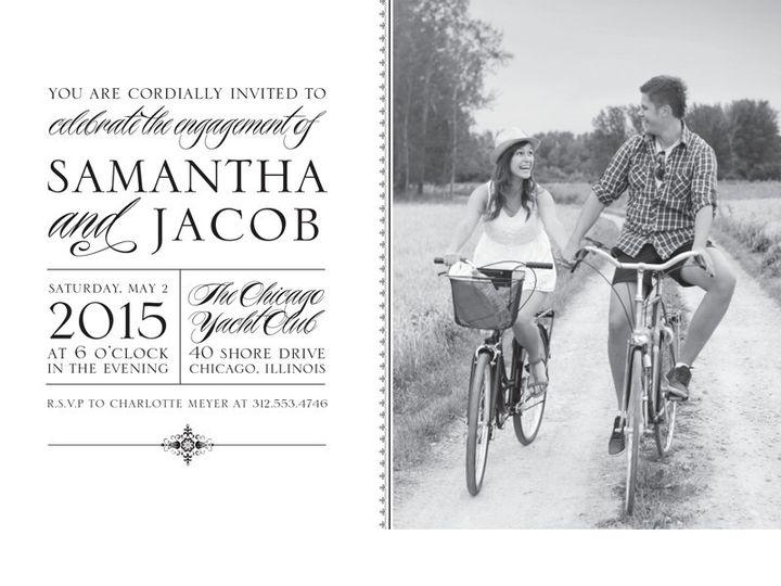 Tmx 1454441210570 Black  White Bristol wedding invitation