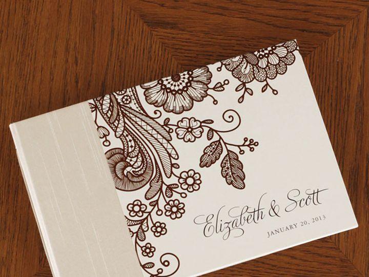 Tmx 1454505531219 Prussion Lace Cocoa Gb P1 Bristol wedding invitation