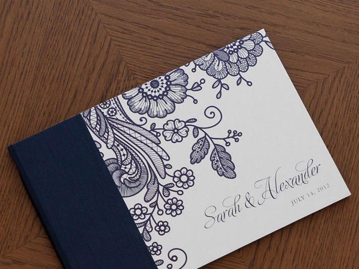 Tmx 1454505536888 Prussion Lace Navy Gb P1 Bristol wedding invitation