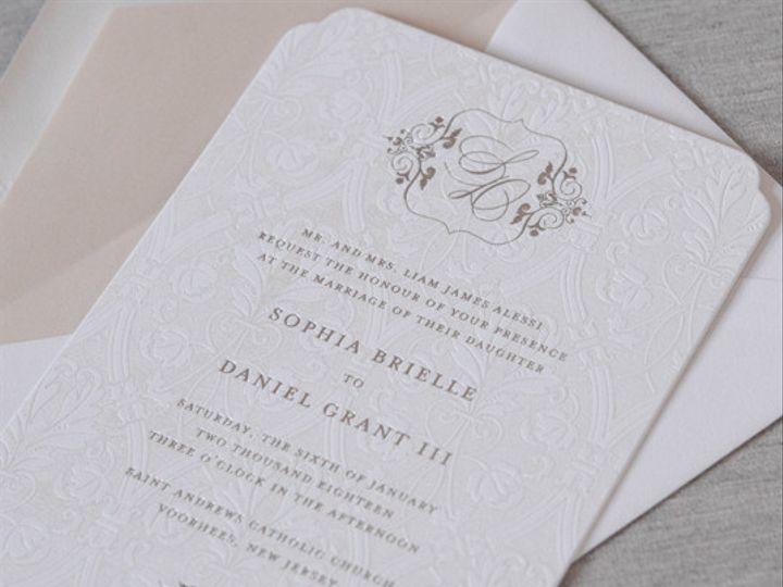 Tmx 1454508998236 Princetonfoilweddinginvitationgallery08 Bristol wedding invitation